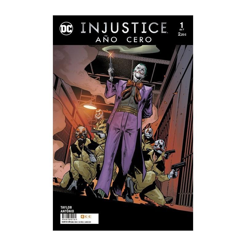 INJUSTICE AÑO CERO Nº 01 (DE 07)