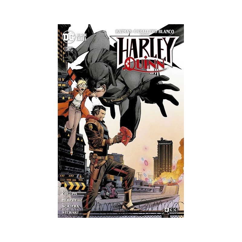 BATMAN: CABALLERO BLANCO PRESENTA - HARLEY QUINN Nº 05 (DE 06)