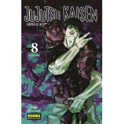 JUJUTSU KAISEN Nº 08