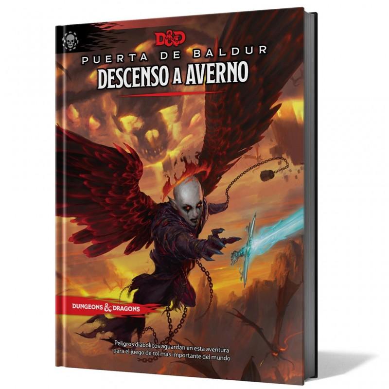 DESCENSO A AVERNO (DUNGEONS & DRAGONS 5ª EDICIÓN)