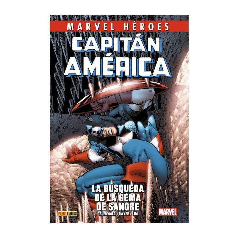 MARVEL HÉROES CAPITÁN AMÉRICA DE MARK GRUENWALD VOL. 03