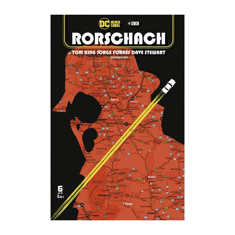 RORSCHACH Nº 06 (DE 12)