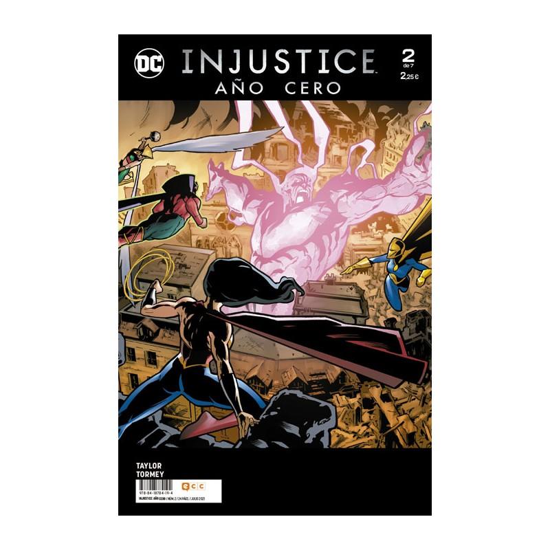 INJUSTICE: AÑO CERO Nº 02 (DE 7)