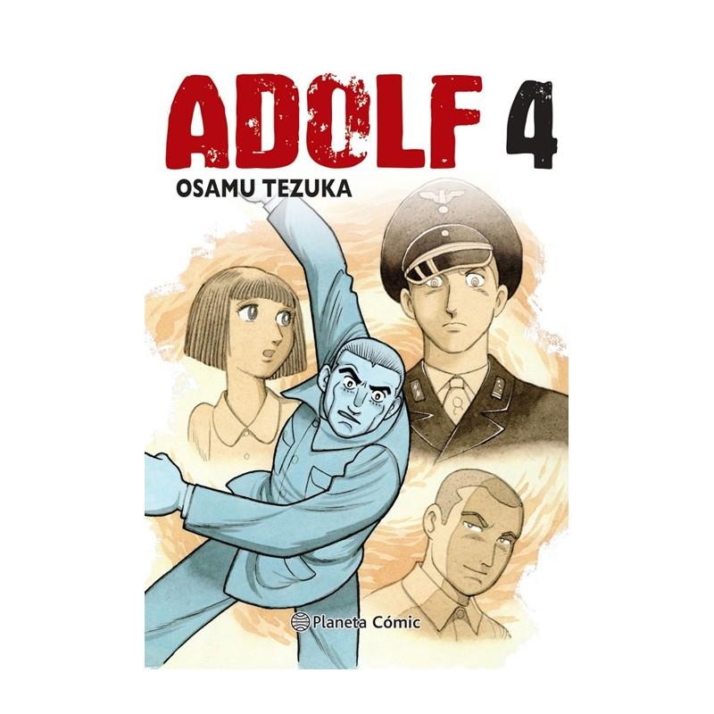 ADOLF DE OSAMU TEZUKA (EDICIÓN TANKOUBON) Nº 04