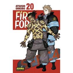 FIRE FORCE Nº 20