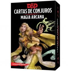 CARTAS DE CONJUROS D&D: MÁGIA ARCANA