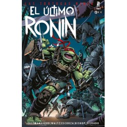 LAS TORTUGAS NINJA: EL ÚLTIMO RONIN Nº 02 (DE 05)