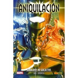 ANIQUILACIÓN SAGA VOL. 05 ANIQUILACIÓN: HERALDOS DE GALACTUS