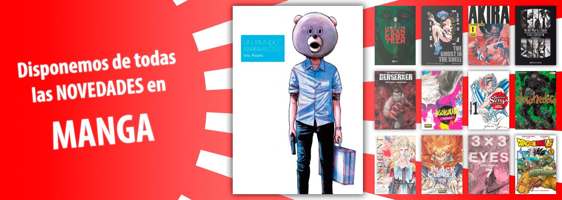 ComicSpain.com - Disponemos de todas las Novedades en Manga