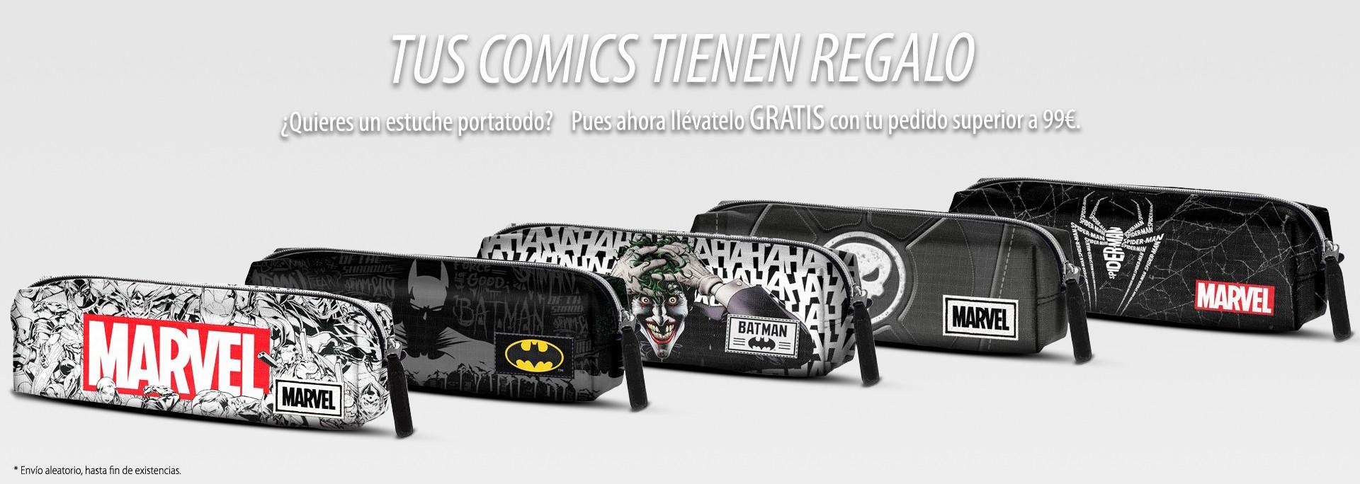 ComicSpain.com - Tus comics tienen regalo