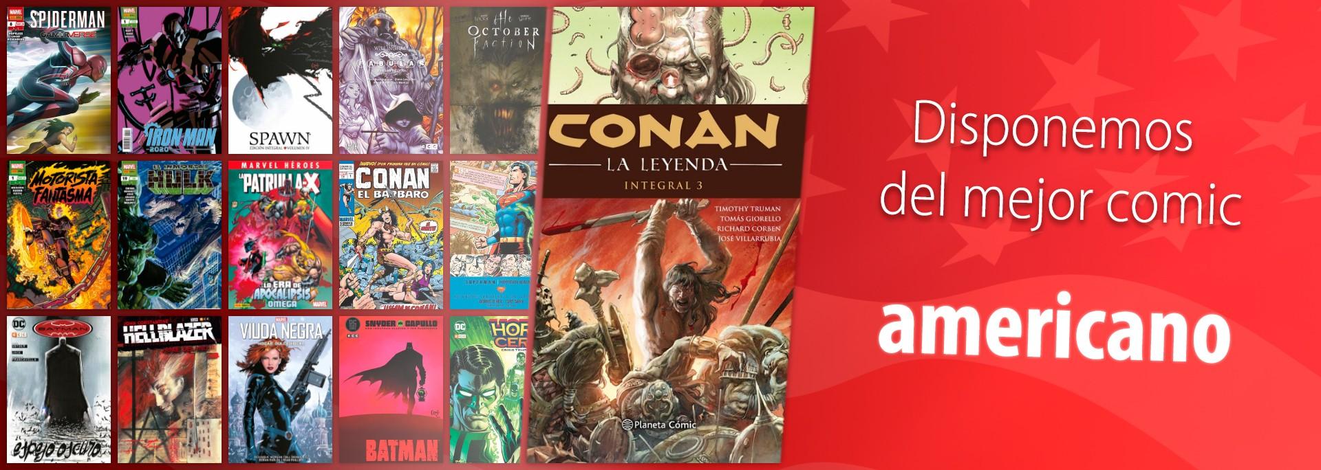 ComicSpain.com - Disponemos del mejor comic americano